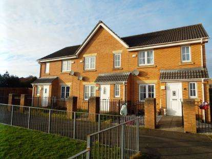 3 Bedrooms Terraced House for sale in Hawthorn Way, Illingworth, Halifax, West Yorkshire