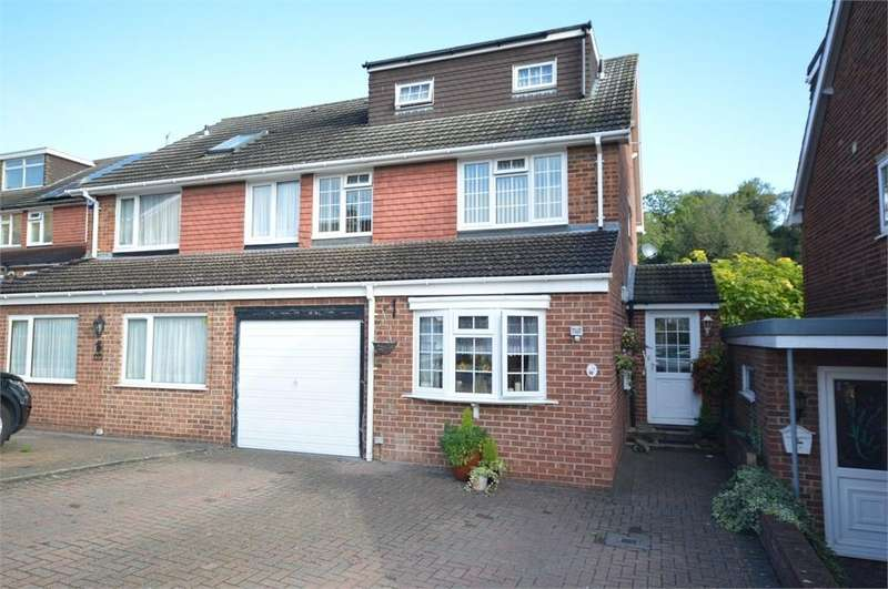 3 Bedrooms Semi Detached House for sale in Poplicans Road, Cuxton
