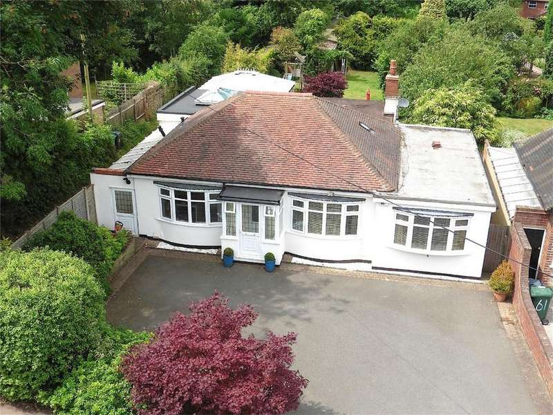 4 Bedrooms Detached Bungalow for sale in Wood Lane, Streetly, Sutton Coldfield, West Midlands