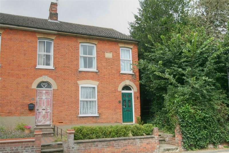 3 Bedrooms End Of Terrace House for sale in 20 London Road, Beccles, NR34 9NH, Suffolk