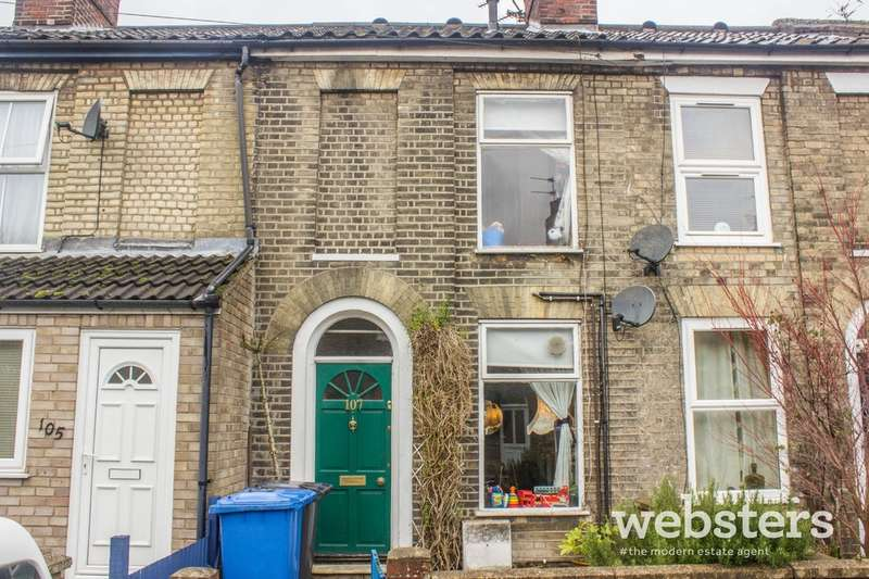 2 Bedrooms Terraced House for sale in Gladstone Street, Norwich NR2