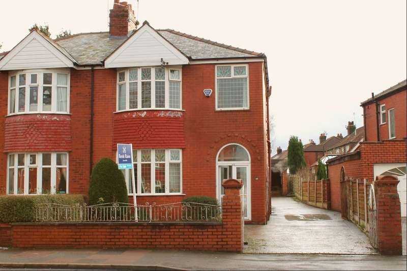 3 Bedrooms Semi Detached House for sale in Broadstone Road, Heaton Chapel, Stockport, SK4