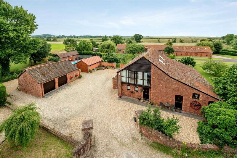 4 Bedrooms Barn Conversion Character Property for sale in Perry Green, Wembdon, Bridgwater, Somerset