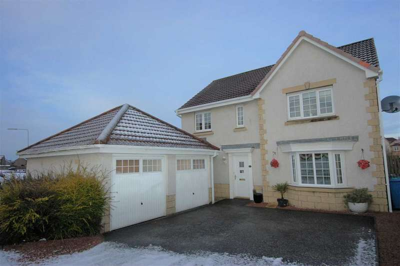 4 Bedrooms Detached Villa House for sale in Brambling Road, Dunfermline