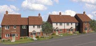 2 Bedrooms Terraced House for sale in Oakline, Heathfield, East Sussex
