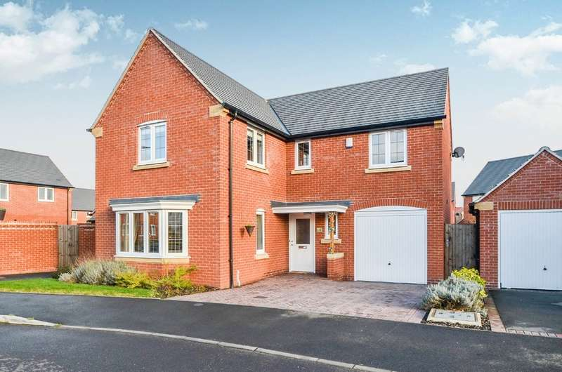 4 Bedrooms Detached House for sale in Tene Close, Cawston, Rugby