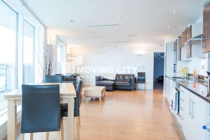 3 Bedrooms Apartment Flat for sale in The Mast, 2 Albert Basin Way, E16