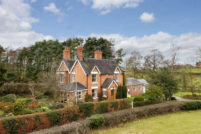 3 Bedrooms Detached House for sale in Brook House, Bunbury, CW6 9PE