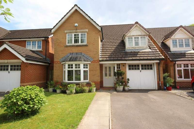 4 Bedrooms Detached House for sale in Ffordd Yr Afon, Gwaelod Y Garth, Cardiff