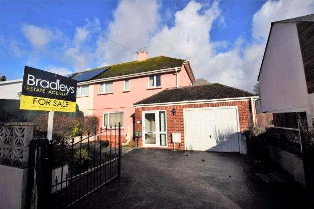3 Bedrooms Semi Detached House for sale in Smallcombe Road, Paignton, Devon