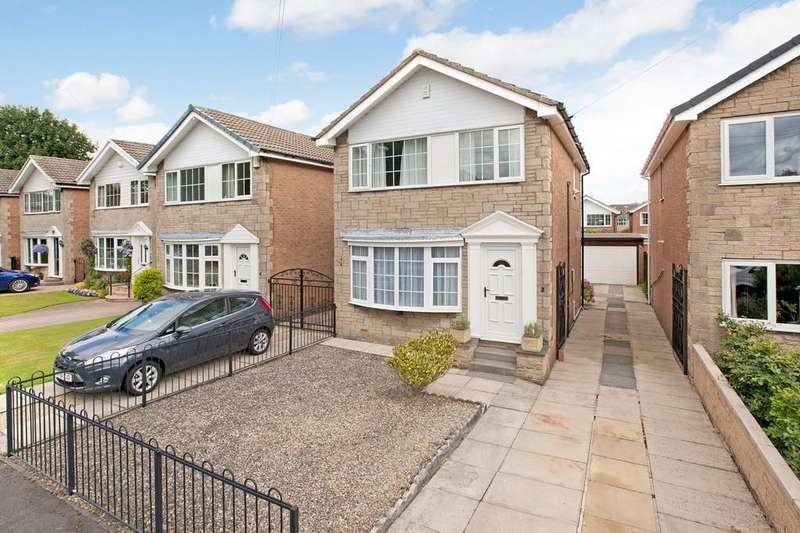 3 Bedrooms Detached House for sale in Whiteley Croft Close, Otley