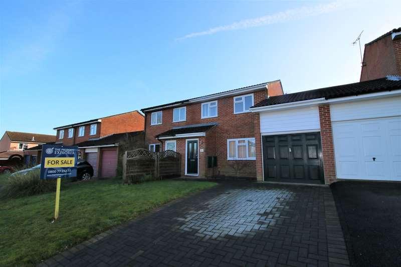 3 Bedrooms Semi Detached House for sale in Mathias Walk, Brighton Hill , Basingstoke, RG22