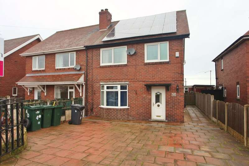 4 Bedrooms Semi Detached House for sale in Newfield Crescent, Wath-Upon-Dearne, Rotherham, S63