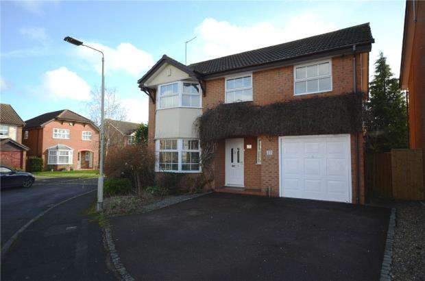 5 Bedrooms Detached House for sale in Ledran Close, Lower Earley, Reading