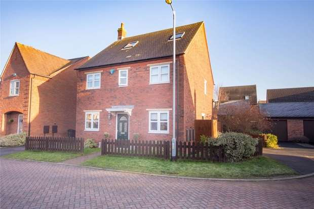 4 Bedrooms Detached House for sale in Gillespie Close, Fradley, Lichfield, Staffordshire