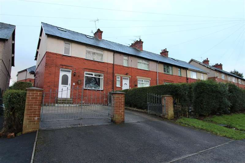 3 Bedrooms End Of Terrace House for sale in Fore Lane Avenue, Beechwood, Sowerby Bridge