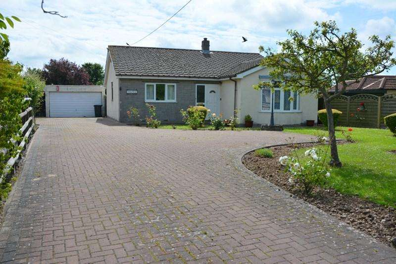 3 Bedrooms Detached Bungalow for sale in Mendip Road, Rooksbridge, Axbridge