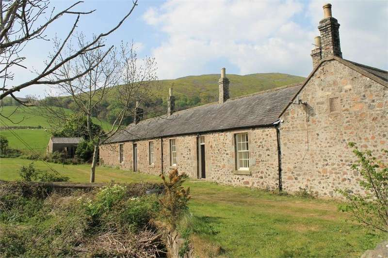 5 Bedrooms Terraced House for sale in 1 and 2 The Square, Akeld, Wooler, Northumberland