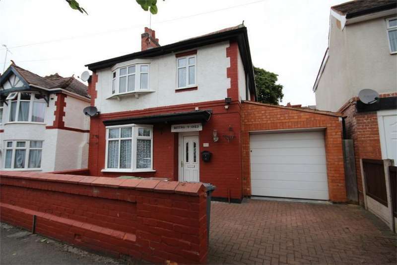 3 Bedrooms Detached House for sale in Earls Road, Nuneaton, Warwickshire