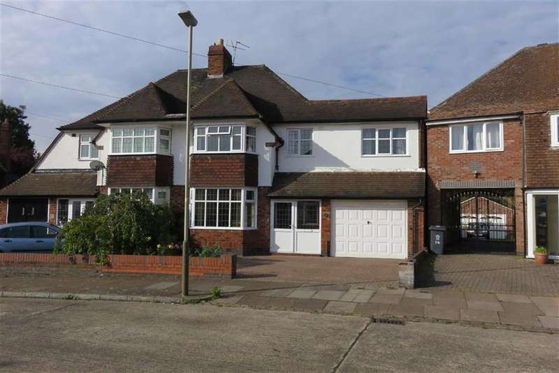 4 Bedrooms Semi Detached House for sale in Mickleton Drive, Evington