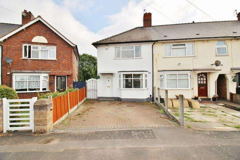 2 Bedrooms Semi Detached House for sale in Barlow Road, Wednesbury