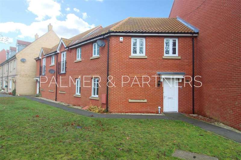 3 Bedrooms Terraced House for sale in Cater Walk, Mile End, Colchester