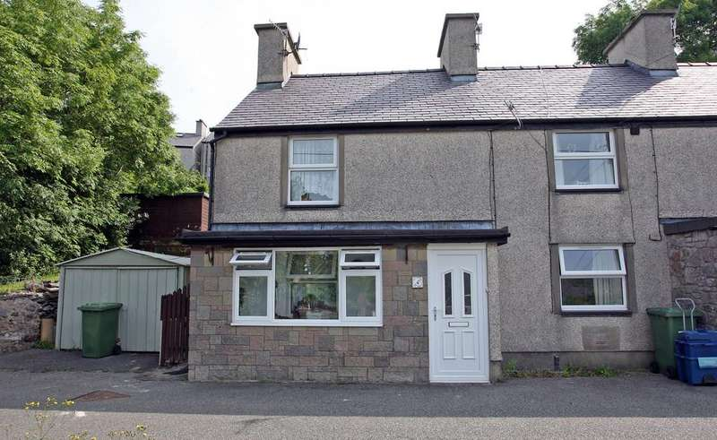 2 Bedrooms End Of Terrace House for sale in Tan Treflys, Bethesda, North Wales