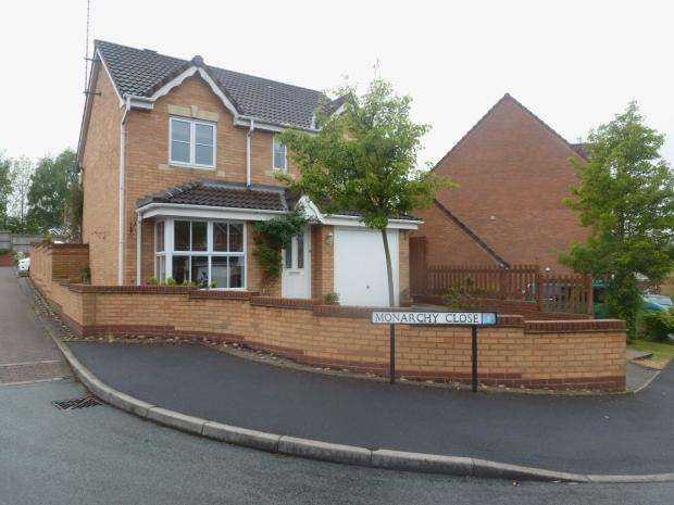 4 Bedrooms Detached House for sale in Burnthill Lane Cannock Chase