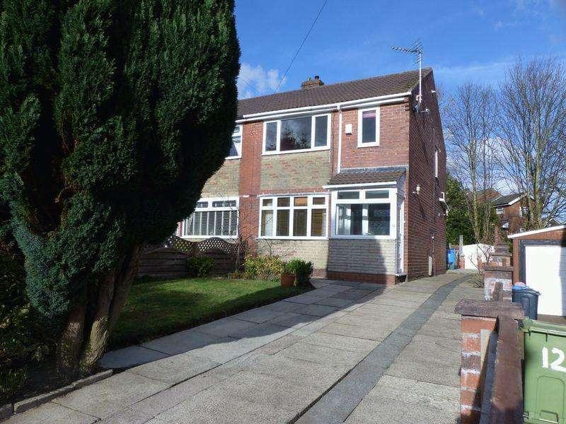 3 Bedrooms Semi Detached House for sale in Oak Avenue, Royton