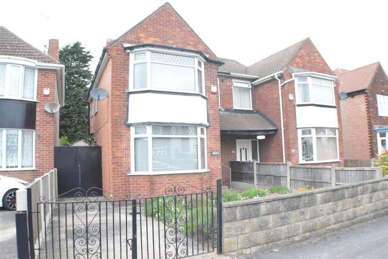 3 Bedrooms Semi Detached House for sale in Thorn Avenue, Mansfield