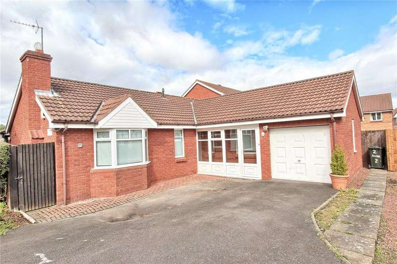 2 Bedrooms Detached Bungalow for sale in Swanage Close, Tollesby Hall