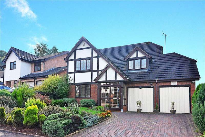 4 Bedrooms Detached House for sale in Hopton Drive, Kidderminster, DY10