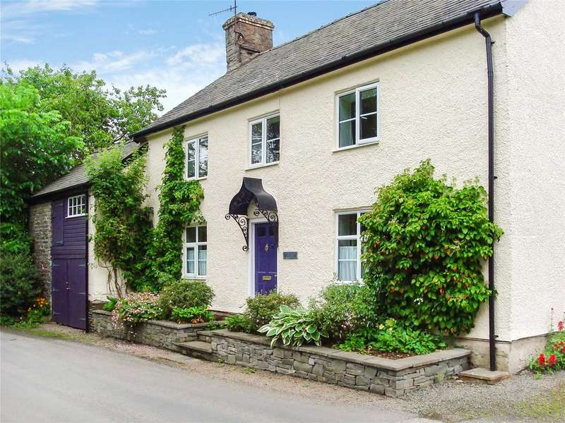 4 Bedrooms Detached House for sale in Knucklas, Knighton, Powys
