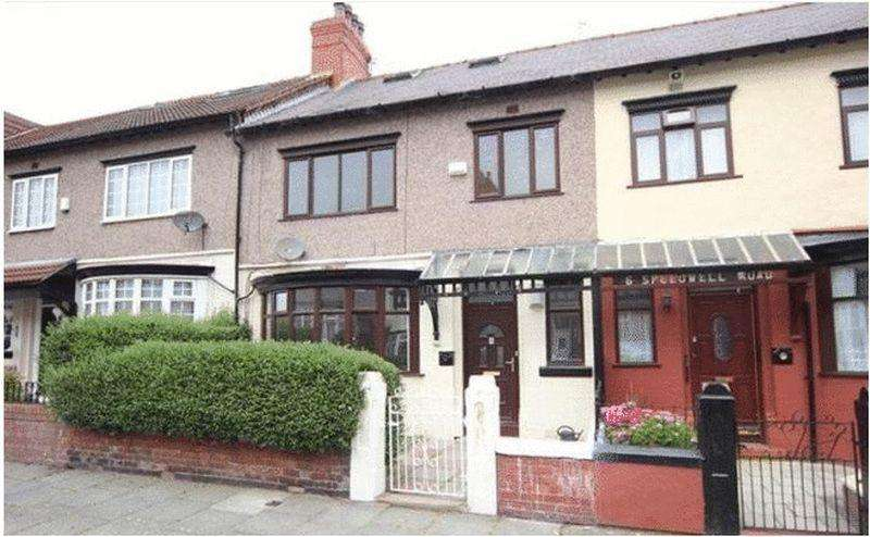 4 Bedrooms Terraced House for sale in Speedwell Road, Claughton