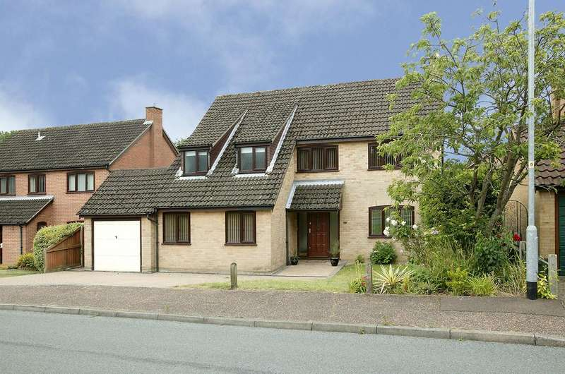 5 Bedrooms Detached House for sale in Armitage Close, Cringleford