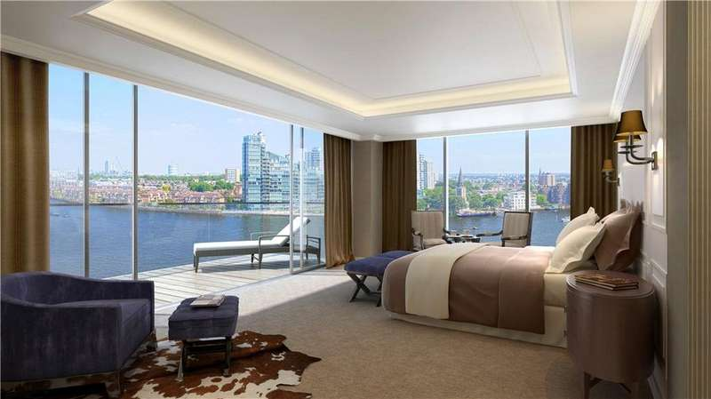 5 Bedrooms Flat for sale in Chelsea Waterfront, 90 Lots Road, Chelsea, London, SW10