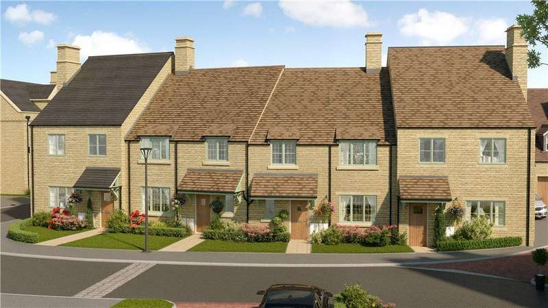 3 Bedrooms Terraced House for sale in Highworth, Leamington Road, Broadway, Worcestershire, WR12
