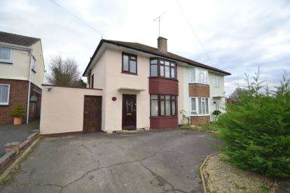 3 Bedrooms Semi Detached House for sale in Chignal Road, Chelmsford, Essex