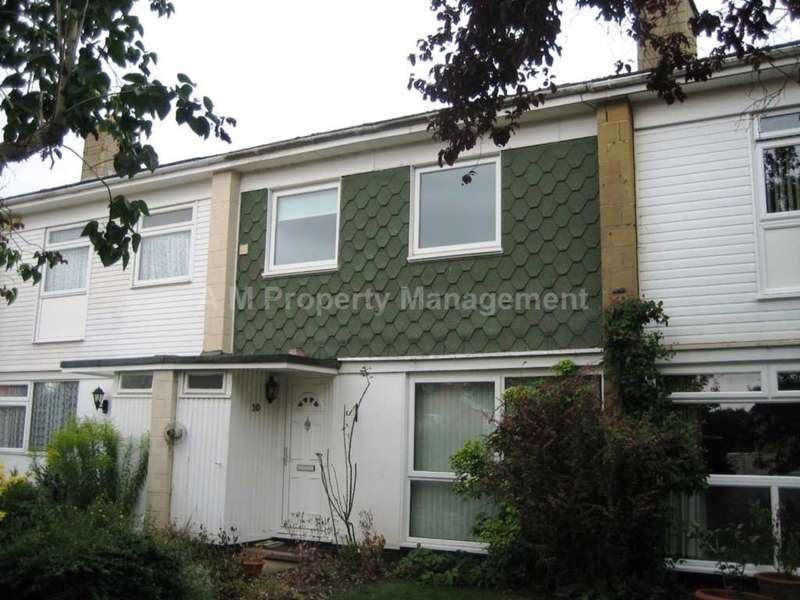 3 Bedrooms Terraced House for sale in Meadow Way, Theale