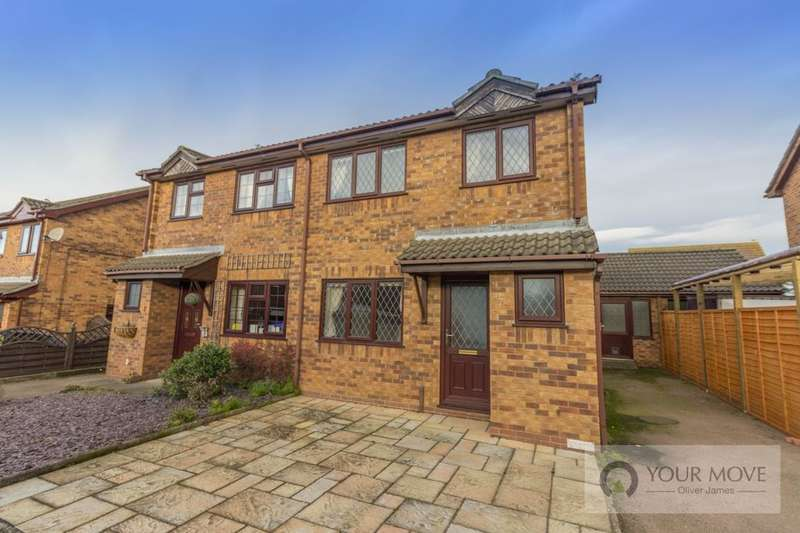 3 Bedrooms Semi Detached House for sale in Rochdale, Carlton Colville, Lowestoft, NR33