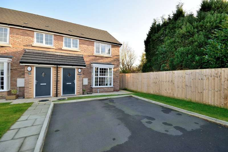3 Bedrooms Semi Detached House for sale in Ford Farm Close, Warrington