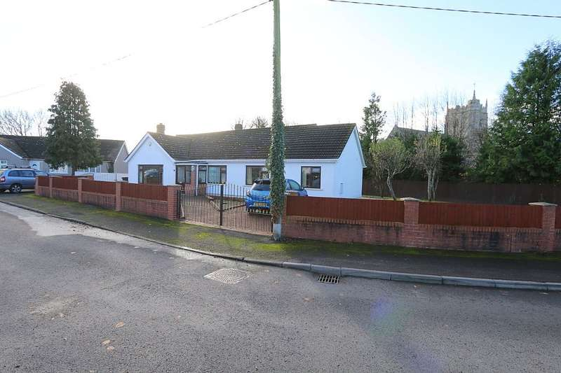 3 Bedrooms Detached Bungalow for sale in Church Close, Peterstone Wentlooge, Cardiff, Cardiff, Caerdydd, CF3 2TP