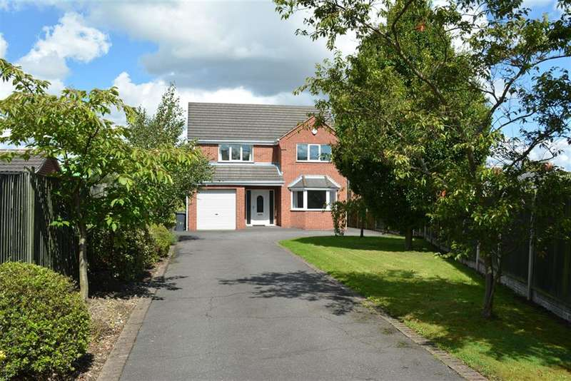 4 Bedrooms Detached House for sale in Williamthorpe Close, North Wingfield, Chesterfield, S42