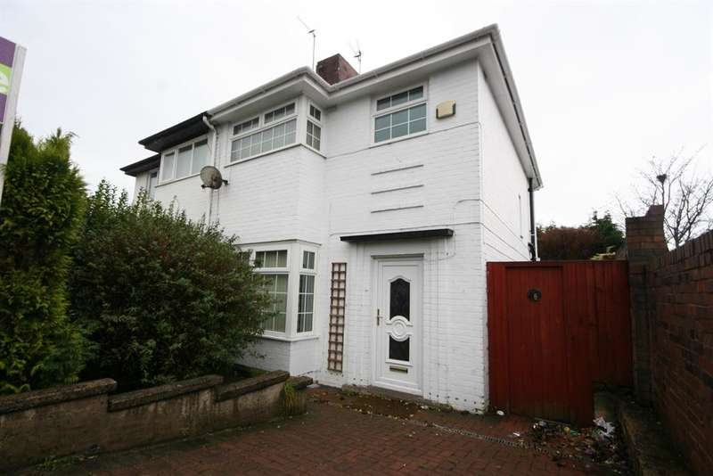 3 Bedrooms Semi Detached House for sale in Gorsey Lane, Wallasey, CH44 4AF