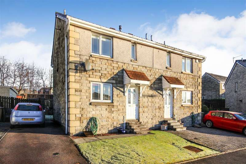3 Bedrooms Semi Detached House for sale in Bonnyvale Place, Bonnybridge