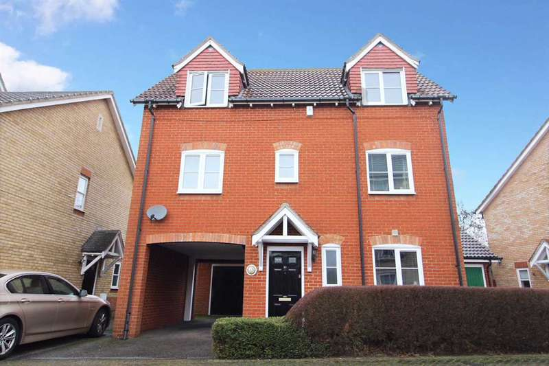 3 Bedrooms Detached House for sale in Damselfly Road, Ipswich