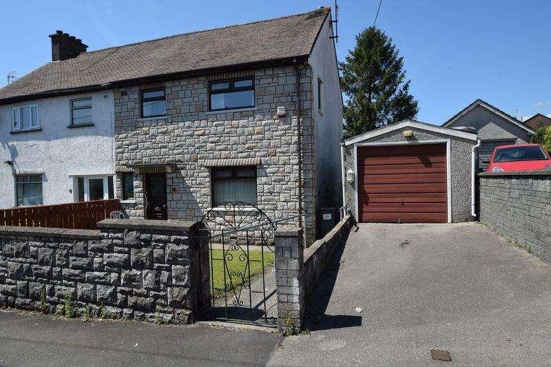3 Bedrooms Semi Detached House for sale in Bryn Eglwys, Croesyceiliog