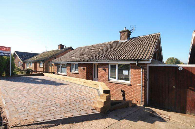 2 Bedrooms Detached Bungalow for sale in Edale Close, Allestree, Derby