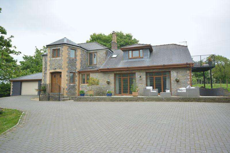 5 Bedrooms Detached House for sale in Ty Cerrig, Laleston, Bridgend