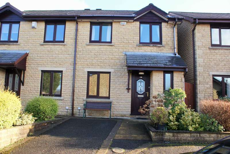 3 Bedrooms Semi Detached House for sale in Old Nursery Fold, Harwood